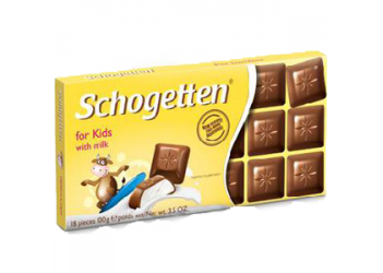 Шоколад Schogetten for Kids 100g