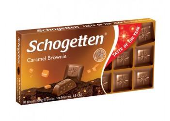 Шоколад Schogetten Caramel Brownie 100g