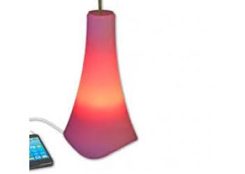 Светильник-ночник-ваза для цветов-акустическая система с пультом 4в1 TECSTAR (Medion) (220В и акб)