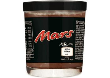 Шоколадно-карамельная паста Mars 200g