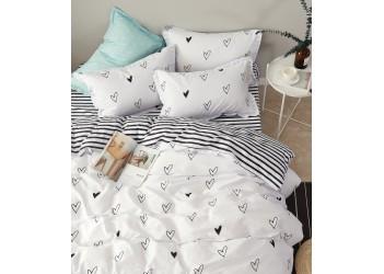 Комплект постельного белья B-0100 Fm  Bella Villa Сатин-фотопринт 7 ед