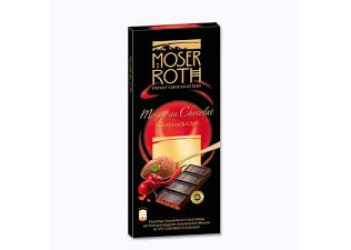 Шоколад Moser Roth - SAUERKIRCH-CHILI 150g