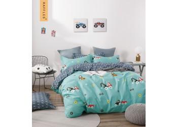Комплект постельного белья B-0244 Sn Bella Villa Сатин-фотопринт 4 ед