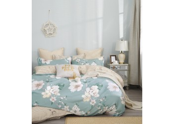Комплект постельного белья B-0249 Eu Bella Villa Сатин-фотопринт 4 ед