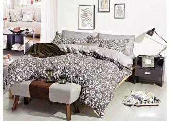 Комплект постельного белья/B-0011 Eu  Bella Villa Сатин-фотопринт, 4 ед.