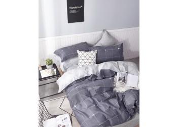 Комплект постельного белья/B-0200  Eu Bella Villa Сатин-фотопринт, 4 ед.