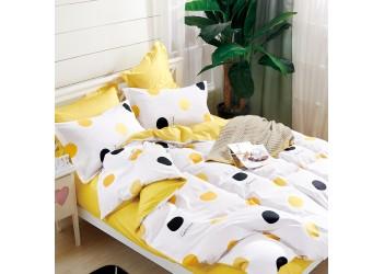 Комплект постельного белья/B-0201  Eu Bella Villa Сатин-фотопринт, 4 ед.