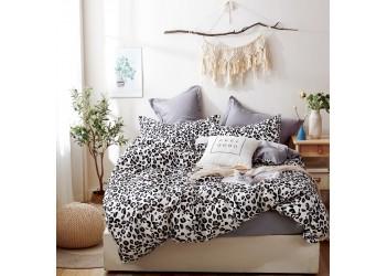Комплект постельного белья/B-0204  Eu Bella Villa Сатин-фотопринт, 4 ед.