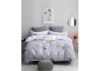 Комплект постельного белья/B-0205  Eu Bella Villa Сатин-фотопринт, 4 ед.