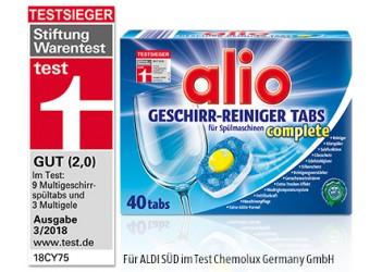 Alio Таблетки для посудомойки 40шт