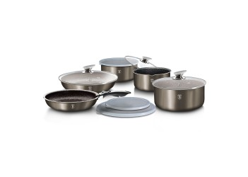 Набір посуду 12 пр (з набіром скляних та пластикових кришок для зберігання)