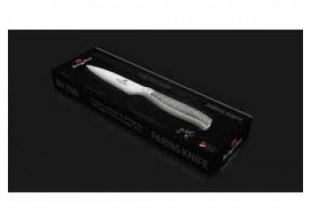 Нож для чистки овощей  9,0 см из нерж. стали с эргономичной ручкой. Цвет стальной