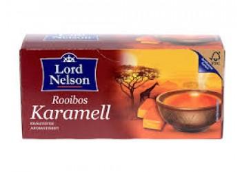 Чай LORD NELSSON Rooibos Karamell (25 пакетиков)