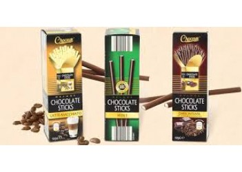 Шоколадные стики Choceur - Deluxe Chocolate Sticks 125г