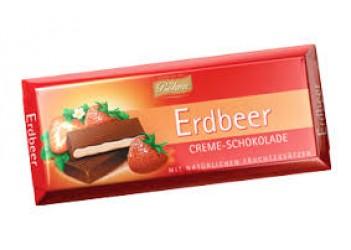Шоколад Böhme Erdbeer Creme-Schokolade 100g
