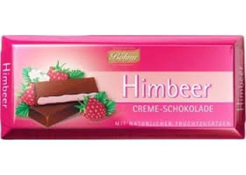 Шоколад Böhme Himbeer Creme-Schokolade100g