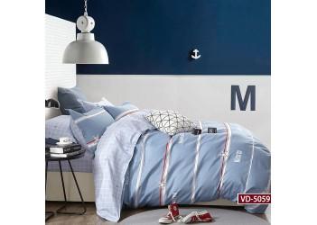 Комплект постельного белья B-0187  Eu Bella Villa Сатин-фотопринт 4 ед