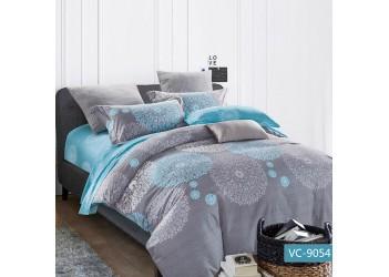Комплект постельного белья/B-0061 Fm  Bella Villa Сатин-фотопринт, 7 ед.