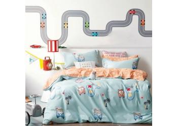 Комплект постельного белья B-0208 Sn Bella Villa Сатин-фотопринт 4 ед