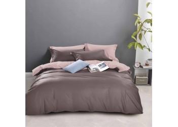 Комплект постельного белья/B-0211  Eu Bella Villa Сатин гладкокрашеный, 4 ед.