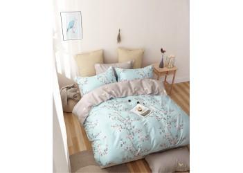 Комплект постельного белья/B-0184  Eu Bella Villa Сатин-фотопринт, 4 ед.