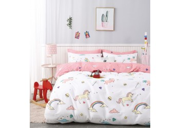 Комплект постельного белья B-0220 Sn Bella Villa Сатин-фотопринт 4 ед