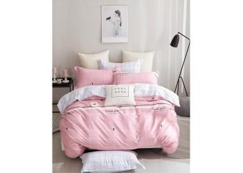 Комплект постельного белья B-0230  Eu Bella Villa Сатин-фотопринт 4 ед