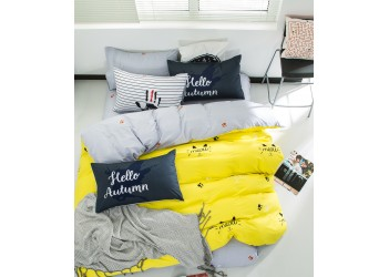 Комплект постельного белья B-0092 Eu Bella Villa Сатин-фотопринт 4 ед
