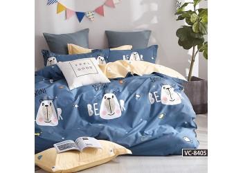 Комплект постельного белья/B-0181 Sn Bella Villa Сатин-фотопринт, 4 ед.