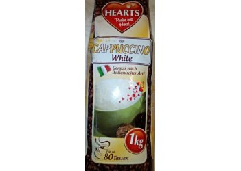 Капучино HEARTS WHITE 1kg