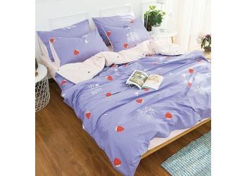 Комплект постельного белья B-0136 Eu Bella Villa Сатин-фотопринт 4 ед