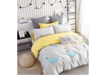 Комплект постельного белья B-0222 Sn Bella Villa Сатин-фотопринт 4 ед