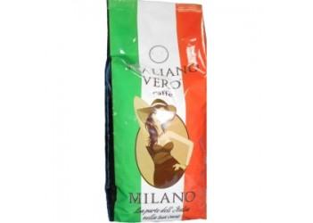 Кофе в зернах Italiano Vero MILANO 1кг,  50%арабика, 50% робуста