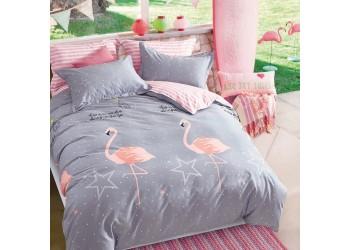 Комплект постельного белья/B-0160  Eu Bella Villa Сатин-фотопринт, 4 ед.