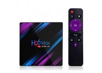 SMART TV box H96 Max+(4Gb/64Gb)  Android