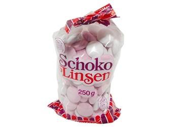 Конфеты Schokolinsen 250g