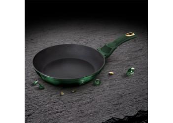 Сковорода Ø24*4,8 см 1,7 л из кованого алюминия, 2-х слойное антипригарное покрытие TITAN, ручка SOF