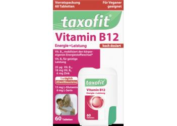 Витамины Taxofit Vatimin B12 60 таблеток