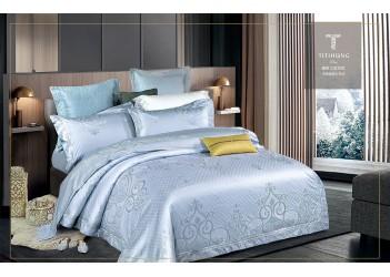Комплект постельного белья J-0049 Eu Bella Villa Сатин-жаккард 6 ед