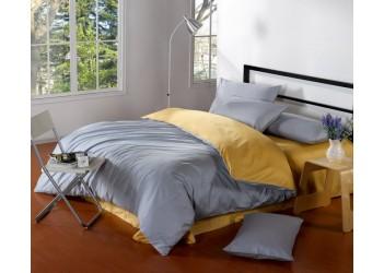 Комплект постельного белья B-0110 Eu Bella Villa Сатин-гладкокрашеный 4 ед
