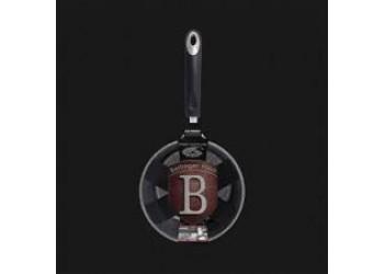 Ковш 1,2 л (Ø16*7,5 см) , серый с черной ручкой