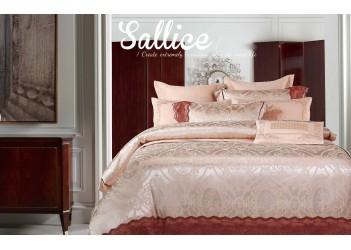 Комплект постельного белья/J-0025  Eu, Bella Villa Сатин-жаккард (6 ед.)