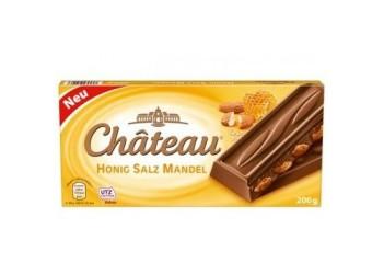 Шоколад Chateau Honig Salz Mandel  200гр