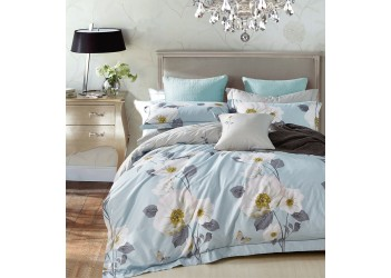 Комплект постельного белья SP-1003 Eu Stella Prima Сатин ЛЮКС 4 ед