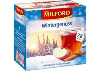 Чай Milford Wintergenuss Zimt-Apfel 28pac