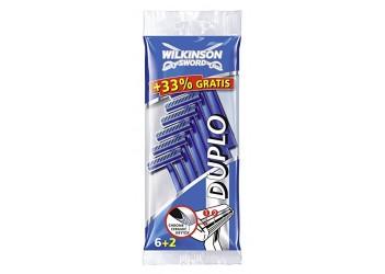"""Набір одноразових станків для гоління Wilkinson - Sword """"DUPLO"""" -(6+2)шт"""
