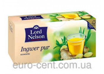 Чай LORD NELSSON Ingwer PUR (25 пакетиков)