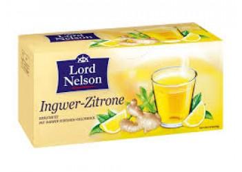 Чай LORD NELSSON Ingwer-Zitrone (25 пакетиков)