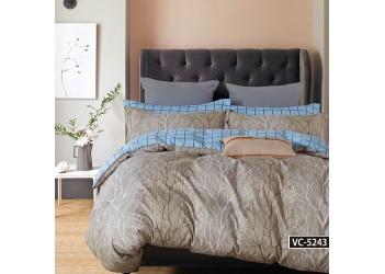Комплект постельного белья/B-0190  Eu Bella Villa Сатин-фотопринт, 4 ед.