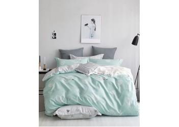Комплект постельного белья/B-0189  Eu Bella Villa Сатин-фотопринт, 4 ед.